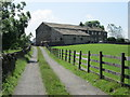SE0935 : Track leading to Honey Pot Farm - Lane Side by Betty Longbottom
