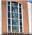 J3374 : Window, St Stephen's, Millfield, Belfast (1) by Albert Bridge