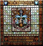 NT4728 : Flodden window detail, Town Hall by kim traynor