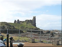 NS2515 : Dunure Castle looking southwest by Ann Cook