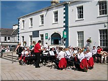 J3730 : St Mark's Silver Band of Portadown on Newcastle's Central Promenade by Eric Jones