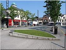 J4844 : St Patrick's Square, Downpatrick by Eric Jones