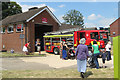 SP9211 : Viewing the Fire Engine at Tring Fire Station by Chris Reynolds