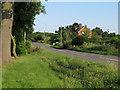 TL6828 : Bridge over stream, near Little Lodge Drive, Great Bardfield by Roger Jones