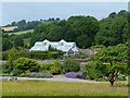 SN5218 : A view over the Double Walled Garden and Tropical House by Robin Drayton
