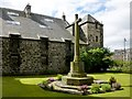 NS4863 : War Memorial beside Paisley Abbey by Lairich Rig