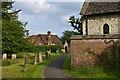 TQ2149 : St Michael's churchyard by Ian Capper