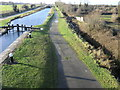 O0632 : Grand Canal and Cappagh Overflow west of Clondalkin by jwd