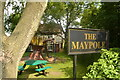 SK4961 : The Maypole, pub at Skegby by Peter Barr