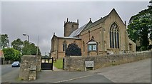 SK5276 : Parish church, St Lawrence, Whitwell by Chris Morgan