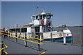 TQ6474 : Tilbury-Gravesend passenger ferry, Gravesend by Julian Osley