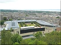 NT2674 : Roof garden, below Calton Hill, Edinburgh by John Lord