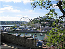 SX9163 : Torquay Harbour from the Parkhill Road steps by Richard Dorrell