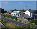SU8853 : Lynchford Lane industrial units by Alan Hunt