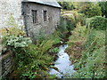 SO1327 : Nant Cwy east of Llangors Bridge, Llangors by Jaggery