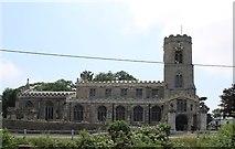 TF5002 : St Peter's church, Upwell by J.Hannan-Briggs