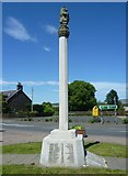 NT5247 : Lauder War Memorial by kim traynor