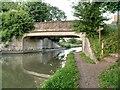 SP2266 : Grand Union Canal Bridge#50 (Station Road Hatton) by David Dixon