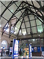 NZ4920 : Middlesbrough station - entrance hall (2) by Mike Quinn