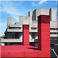 TQ3080 : The Shed at the National Theatre by Patrick Mackie