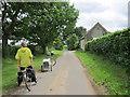TL9695 : A Norfolk Lane by Chris McAuley