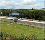 ST2988 : Half a mile to M4 junction 27 at High Cross, Newport by Jaggery