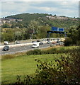 ST2989 : Half a mile to M4 junction 26 at Crindau, Newport by Jaggery