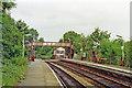 SK0083 : Furness Vale station, 1992 by Ben Brooksbank