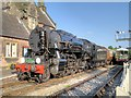 SJ9852 : Steam and Diesel at Cheddleton by David Dixon