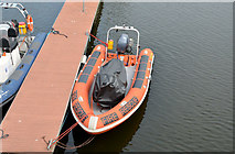 J3474 : River rescue boat, Belfast by Albert Bridge