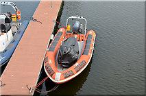 J3474 : River rescue boat, Belfast by Albert Bridge