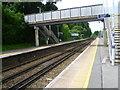 TQ7323 : Robertsbridge station footbridge by Marathon