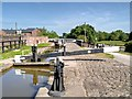 SJ9033 : Stone Lock No 28, Trent and Mersey Canal by David Dixon
