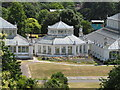 TQ1876 : Temperate House octagon from tree walkway, Kew Gardens by David Hawgood
