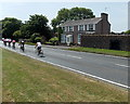 SN1201 : Cyclists on the Long Course Triathlon, Tenby by Jaggery