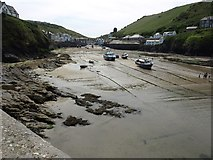 SW9980 : The Haven, Port Isaac, at low tide by David Gearing