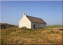 SH3368 : St Cwyfan's Church, Cribinau by Jeff Buck