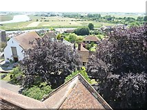 TQ9220 : View south-south-east from Rye Church tower by Christine Johnstone