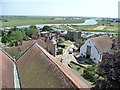 TQ9220 : View east-south-east from Rye Church tower by Christine Johnstone