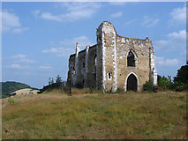 SU9948 : St Catherine's Chapel by Alan Hunt