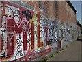 ST6071 : Graffiti by the River Avon Trail by Derek Harper