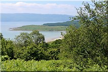 NR9666 : Kilbride Bay from the road above Craig Lodge by Alan Reid