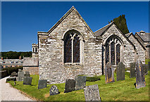 SX1460 : The Boconnoc Estate - parish church of Boconnoc (dedication unknown) [2] by Mike Searle