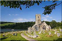 SX1156 : St Winnow's church, St Winnow (1) by Mike Searle