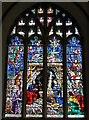 TQ8209 : Stained glass window, St Clement's church by Julian P Guffogg