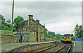 NZ7805 : Glaisdale station, with train 1997 by Ben Brooksbank