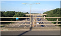 TQ0167 : M3 seen from the M25 southbound at junction 12 by Robin Stott