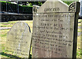 J4079 : Two Dunns headstones, Holywood by Albert Bridge