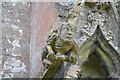TF1444 : Carved grotesque, St Andrew's church, Heckington by Julian P Guffogg