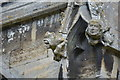 TF1444 : Carved grotesques, St Andrew's church, Heckington 5 by Julian P Guffogg